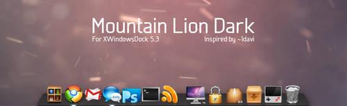Mountain Lion Dark for XWD 5.6