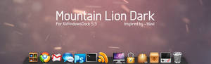 Mountain Lion Dark for XWD 5.6