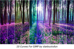 Curves For GIMP by starbucksfun