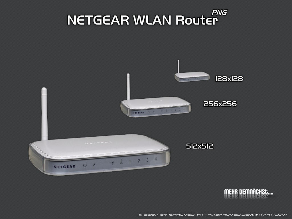 Netgear WLAN Router by 3xhumed on DeviantArt