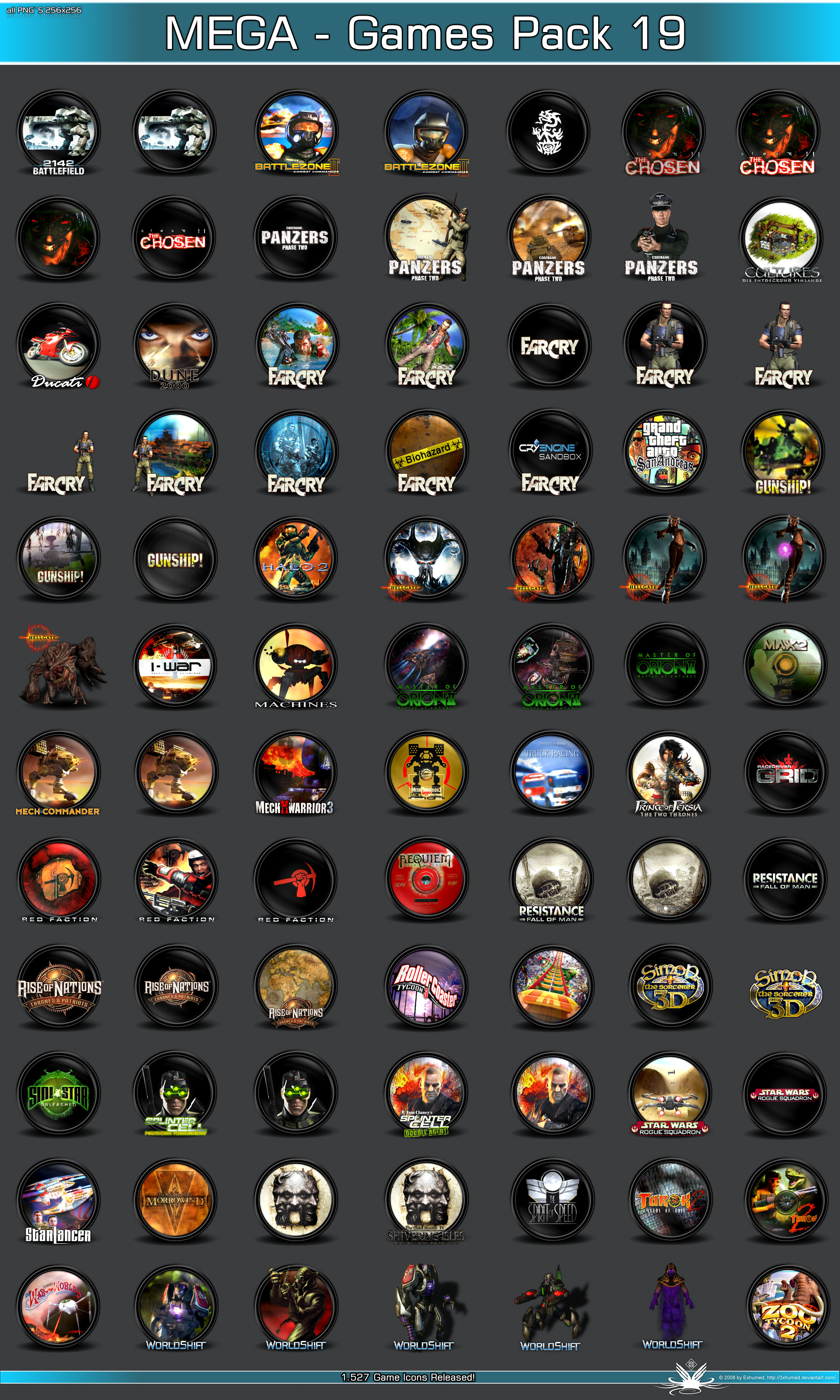 MEGA Games Pack19 by 3xhumed