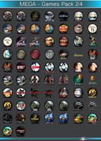 Mega GamesPack 24 by 3xhumed