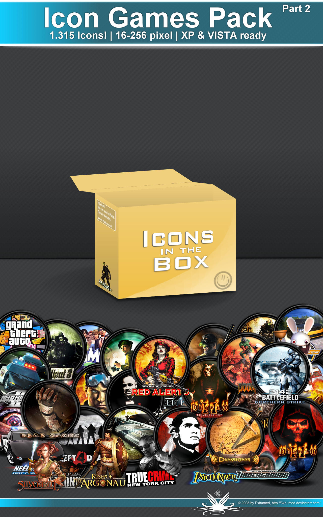 Icon Game Pack_part2 3of4 by 3xhumed