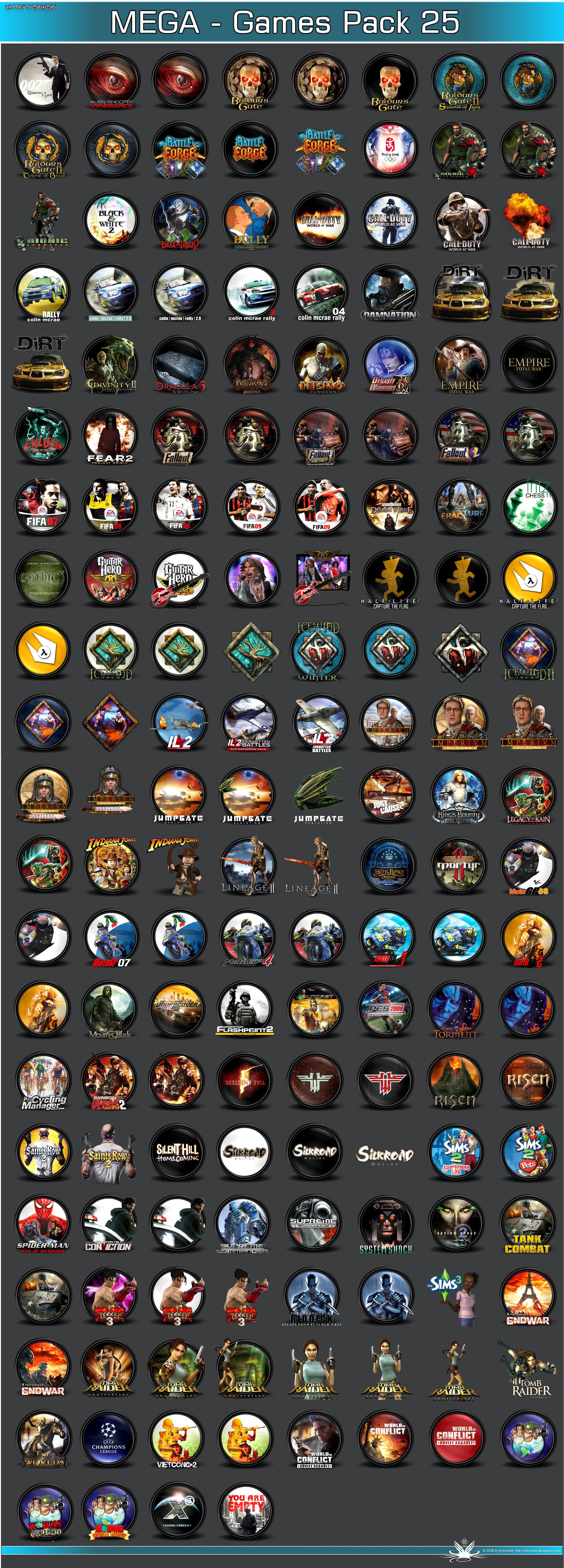 MEGA GamesPack 25 by 3xhumed