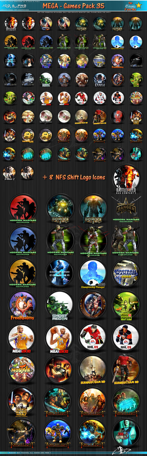 Mega GamesPack 35 by 3xhumed