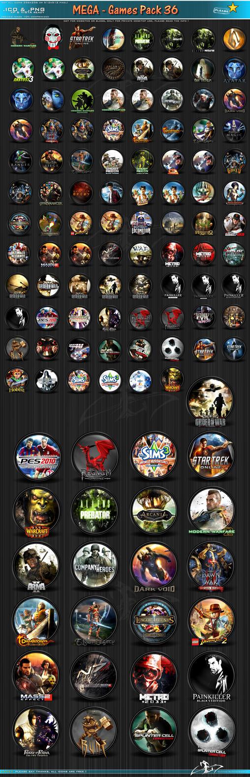 Download Games Icon Mega Pack | PC Mediks