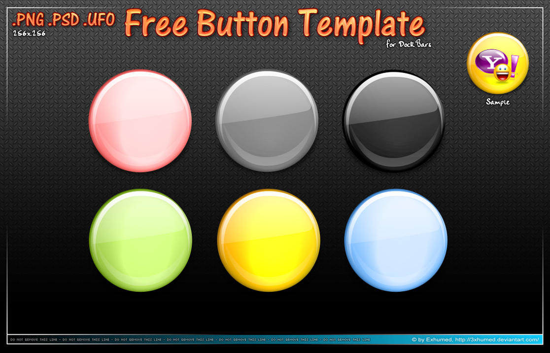 Free Buttons by 3xhumed