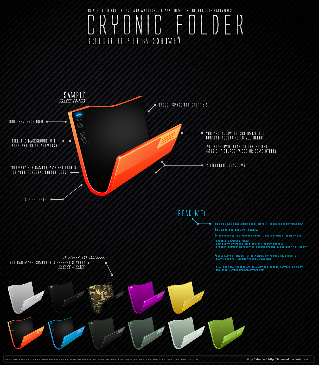 Cryonic Folder by 3xhumed