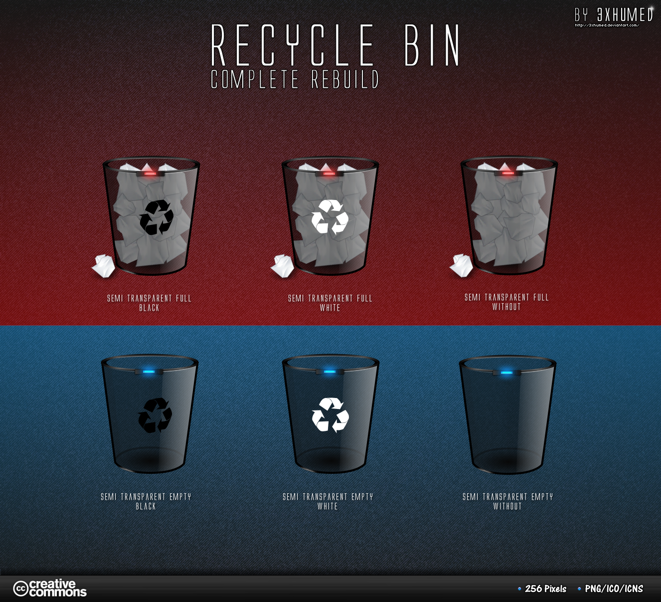 Recycle Bin - Black Version by 3xhumed