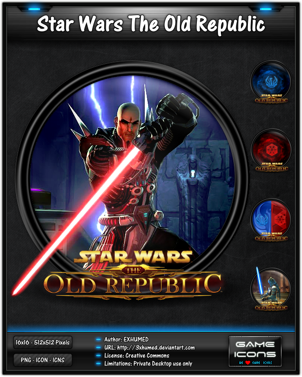 Star Wars The Old Republic by 3xhumed