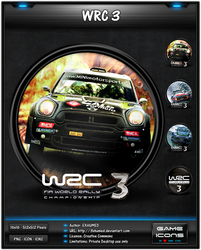 WRC 3 - Game Icon Pack