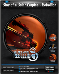 Sins of a Solar Empire-Rebellion - Game Icon Pack