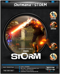 Shotmania Storm - Game Icon Pack