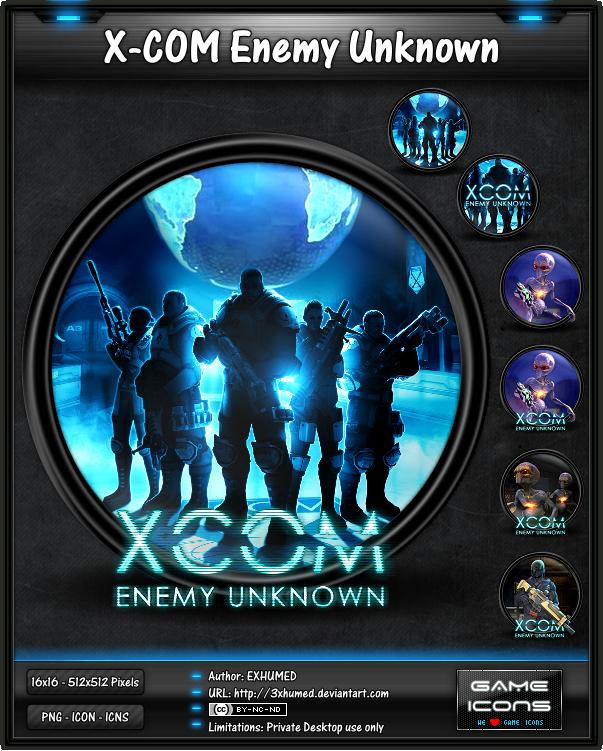 Com - Enemy Unknown by 3xhumedXcom Enemy Unknown Logo Png
