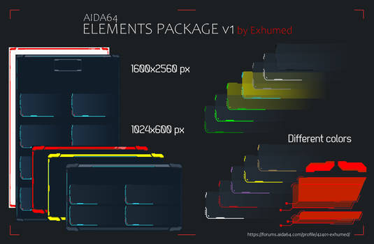 Element Package v1.1 by Exhumed