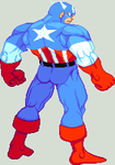 Higher res Captain America by Providenceangle