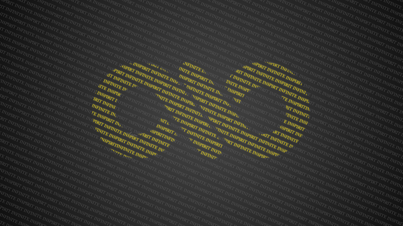 infinite typography wallpaper by vhope on deviantart