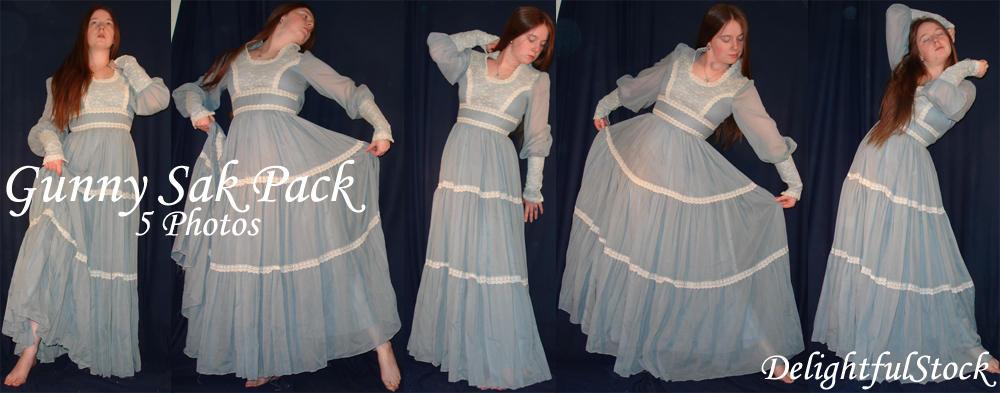 Gunny Sak Pack Delightfulstock by DelightfulStock