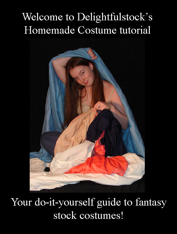 Stock Costume Tutorial by DelightfulStock