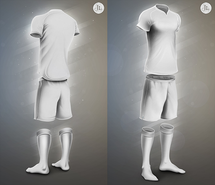 Football Kit Template by Jay5204