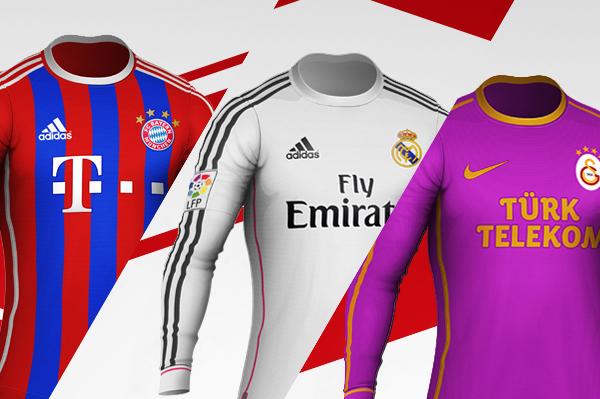 Full Sleeve Football Kit Template By Jay5204 On Deviantart
