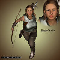 Alainne Warrior by stockkj