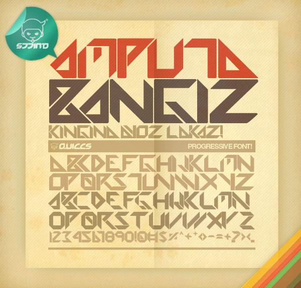 Amputa Bangiz Standard TTF by Quiccs
