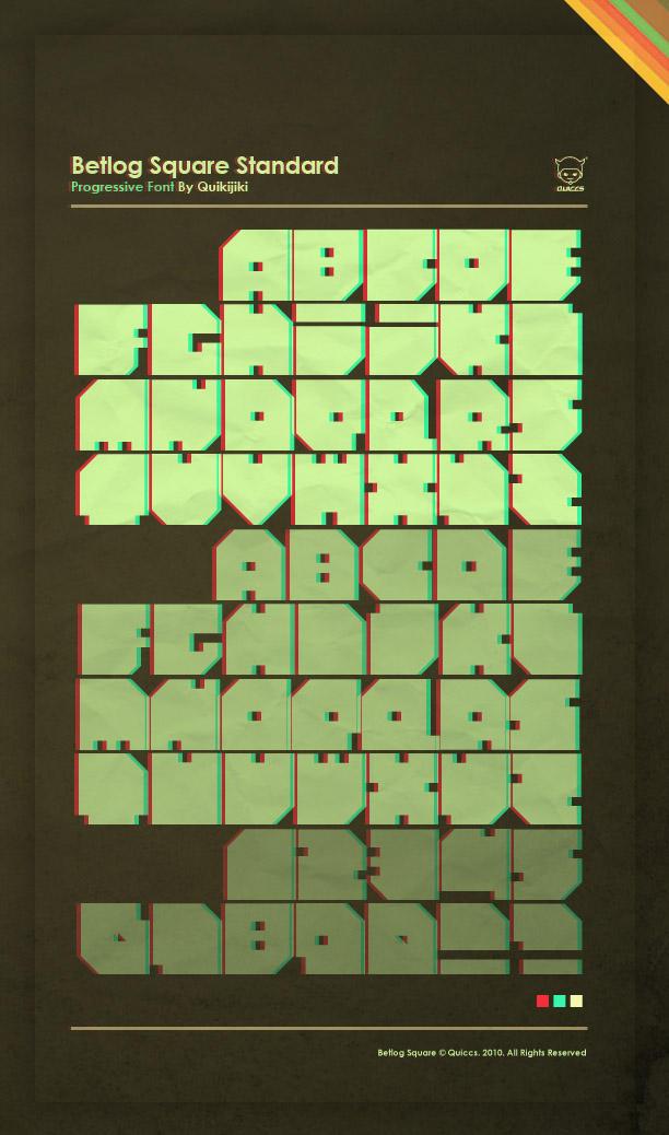 Betlog Square Standard TTF by Quiccs
