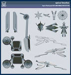 QX MechBike Brush Set 01