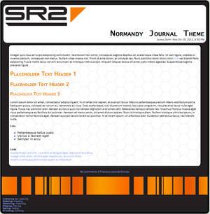 SR2 Normandy dA Journal Skin