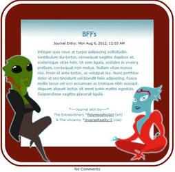 Polymorphicgirl's BFFs: Samara and Thane