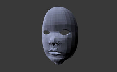 3D face by Conisor