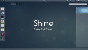 Gnome Shell - Shine by satya164