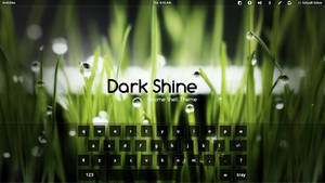 Gnome Shell - Dark Shine