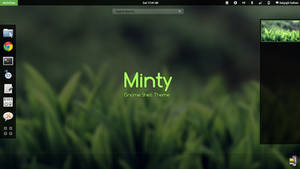 Gnome Shell - Minty
