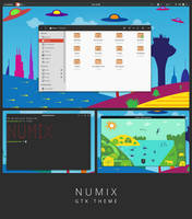 Numix - GTK3 theme by satya164