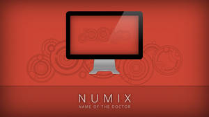Numix - Name of the Doctor - Wallpaper by satya164