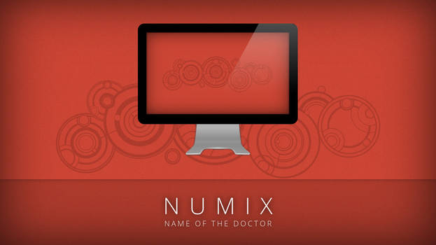Numix - Name of the Doctor - Wallpaper