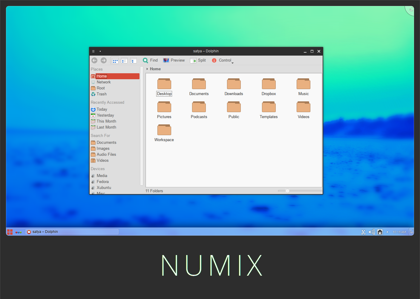 Numix - KDE theme