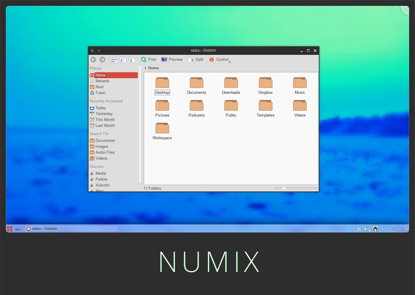 Numix - KDE theme by satya164