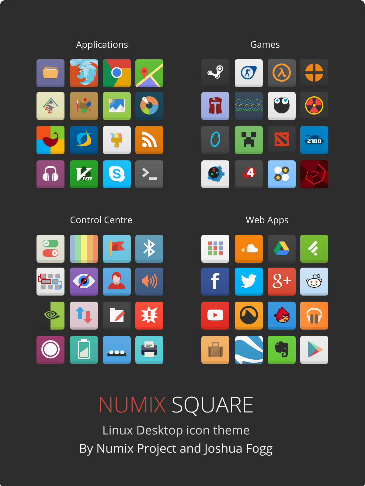 Numix Square icons by satya164 on DeviantArt