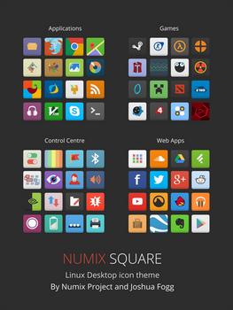 Numix Square icons