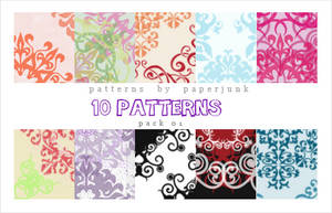 Patterns: Pack 01 by PaperJunk
