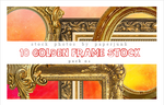 Stock Pack 01: Golden Frames