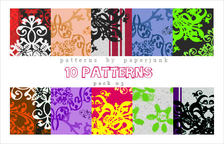 Patterns: Pack 03