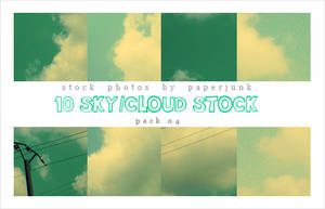 Stock Pack 04: Cloudy
