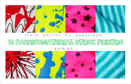 Stock Pack 06: Fabric by PaperJunk