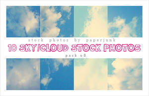 Stock Pack 08: Clouds