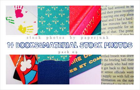Stock Pack 09: Books