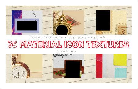 IT Pack 07: Materials